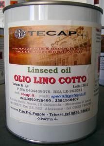 Olio di lino per pavimenti in cotto